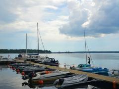 Кирха в Койвисто и яхт-клуб Койвисто. Лето 2014