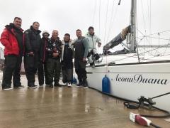 Экипаж яхты нашего клуба